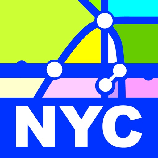 New York Transport Map-Subway Map & Route Planner iOS App