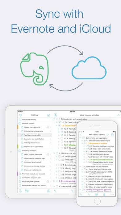 Cloud Outliner Pro 앱스토어 스크린샷