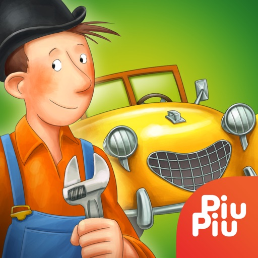 Mulle Meck's cars — a construction set for kids