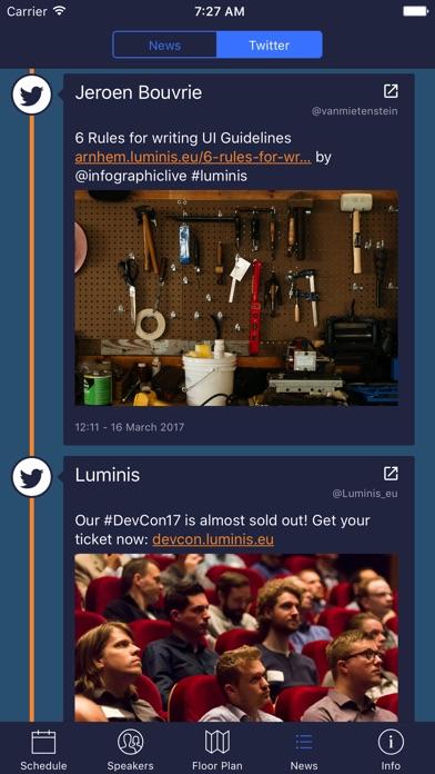 Screenshot #10 for Luminis DevCon