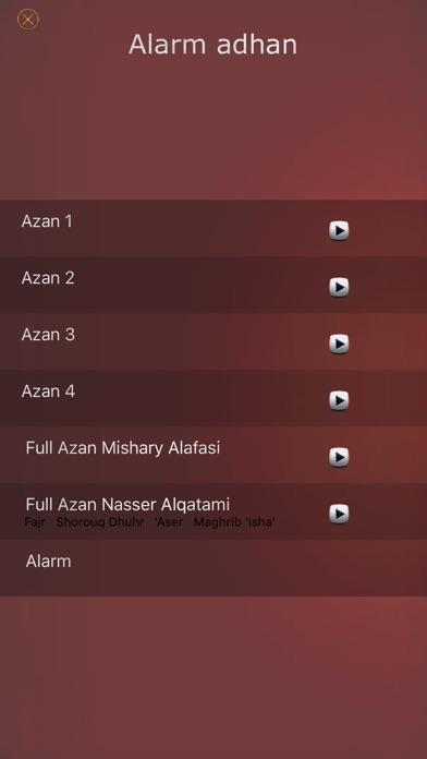 Athan - Salat times & Qibla مؤذن أوقات صلاة المسلملقطة شاشة2