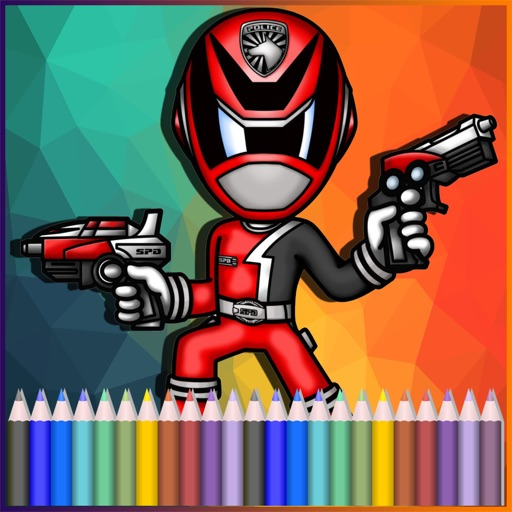 Coloring Pages Fun For Rangers Edition iOS App
