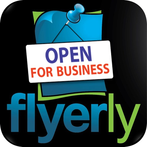 flyerly biz create share flyers for business app store revenue