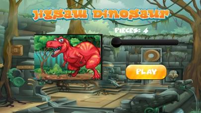 子供のためのゲームを学ぶ恐竜のジグソーパズル 幼児向け無料ゲームのスクリーンショット3