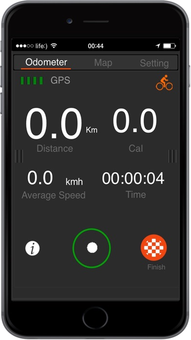 download GPS Pedometer Calorie Counter walking running apps 2