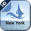 New York boating offline nautical fishing charts - seawellsoft