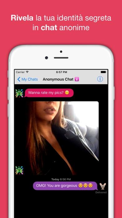 Screenshot of Chat anonima – AntiChat app1
