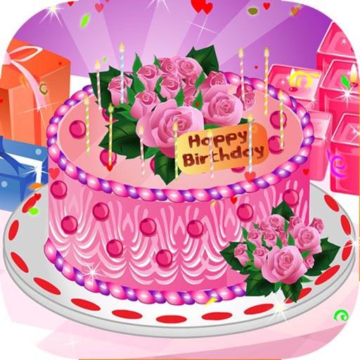 Jeux de cuisine roses pour g teaux d 39 anniversaire par - Jeux de cuisine de gateaux d anniversaire ...