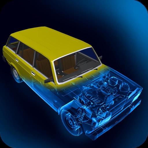 X-Ray LADA VAZ 2104 iOS App