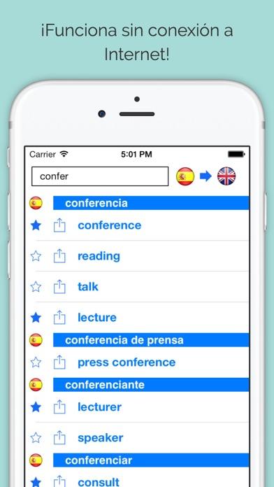download Diccionario Inglés Español Offline (dictionary) apps 1