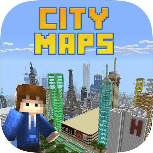 Epic City Maps for Minecraft PE Pocket Edition bei Quoc Hiep