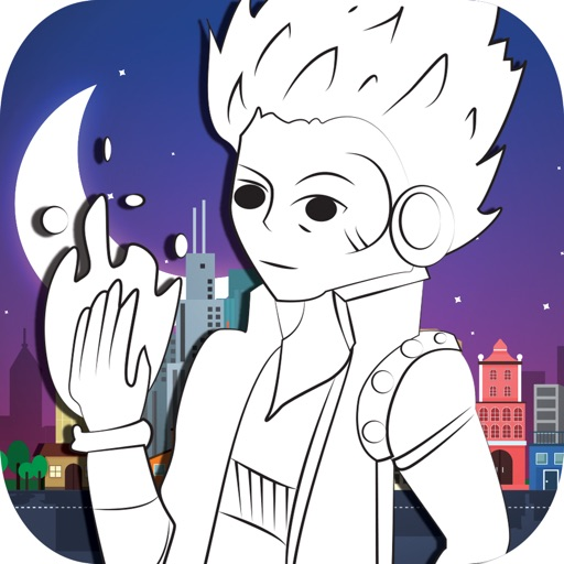 Monster Hight Play Game Coloring For Kids Free iOS App