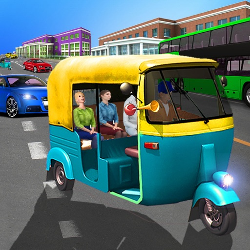 Real Auto Rickshaw Driving Game 2017