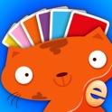 子供のための色のapp図形就学前のゲームを学びます icon