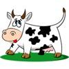 農場奶牛一貼紙包