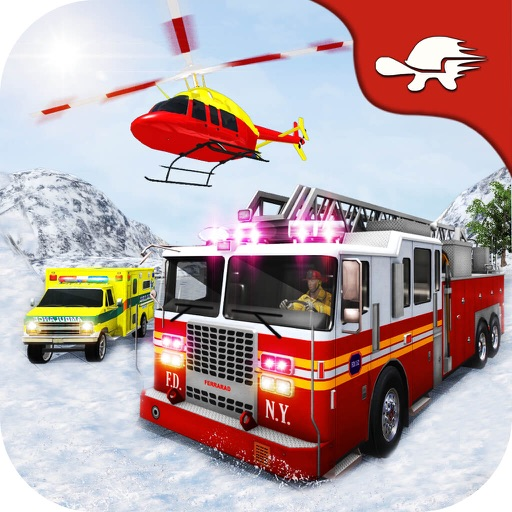 Rescue Run: Offroad Snow Emergency Heroes iOS App