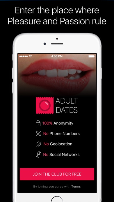 anonymous dating app iphone