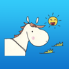 download Chubby Horse Sticker