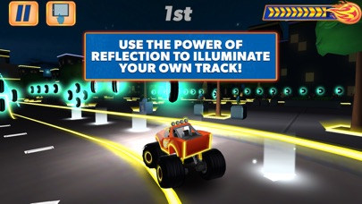 Blaze and the Monster Machines - Racing Game Screenshot