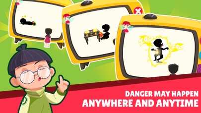 Safety for Kid - Finding dangers Screenshot