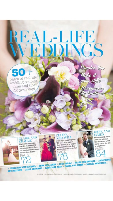 Just Weddings For Todays Brides And Grooms review screenshots