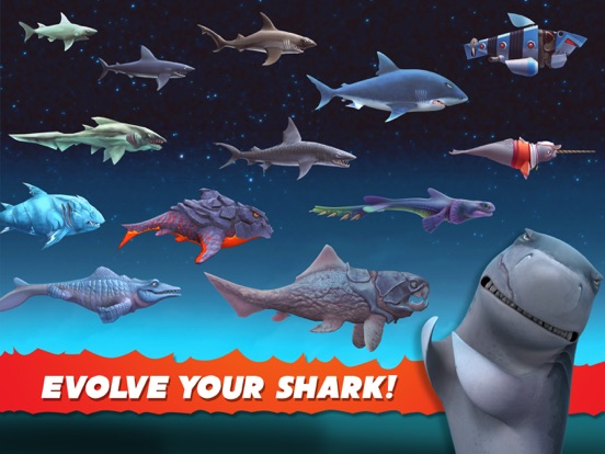 hungry shark evolution on the app store ipad screenshot 2