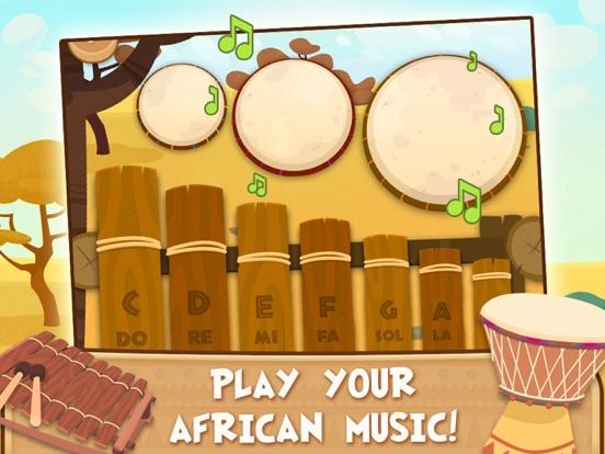 Скачать Африка: животные, игры для малышей 2-3 лет