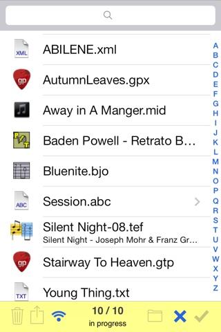 TEFview screenshot 2