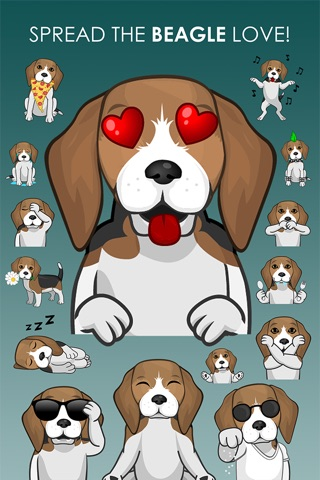 BeagleMojis - Beagle Emojis & Stickers screenshot 4