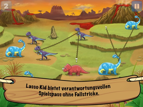 Lasso Kid in Schwierigkeiten! Screenshot