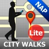 Naples Map and Walks