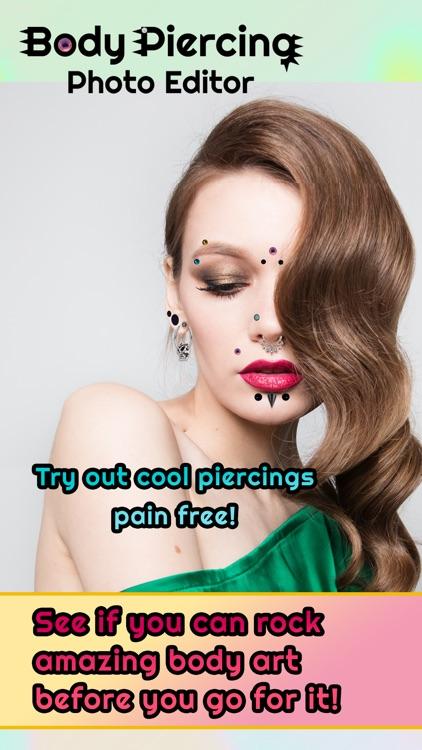 Body Piercing Ideas Photo Editor Sticker Design by Stojan Pesic