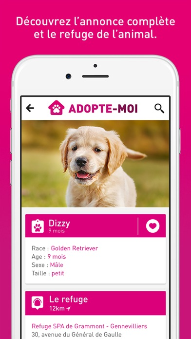 download Adopte-moi - Adopte chien chat apps 0