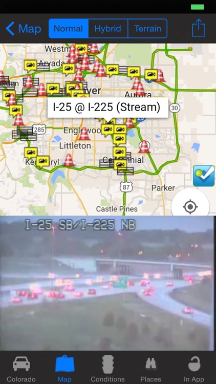 Traffic Map Colorado.Colorado Live Traffic Camera Road Conditions Pro By Calvin Chen