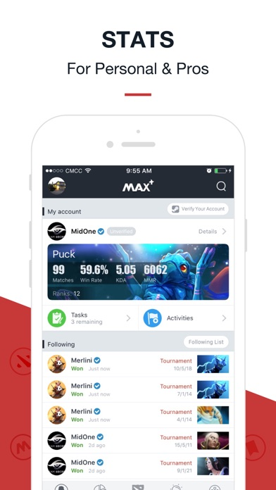 maxplus for dota 2 and cs go on the app store