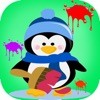 Coloring Book Penguin For Kids