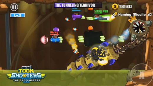 Toon Shooters 2: Фрилансеры Screenshot