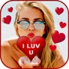 Add Romantic Sticker To Photo - Heart & Love FX