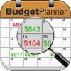 Budget Planner & Web Sync (income and expense balance calendar)