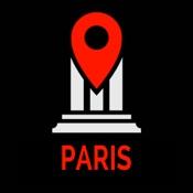 Paris Reiseführer Monument Tracker - offline Karte