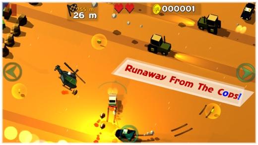 RunawayJRider Screenshot