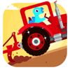 Dinosaur Farm - Tractor & Truck Games for Kids