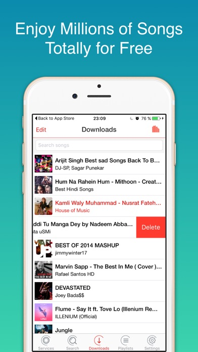 iMusic Player and Unlimited Mp3 iOS Application Version 3 - iOSAppsGames