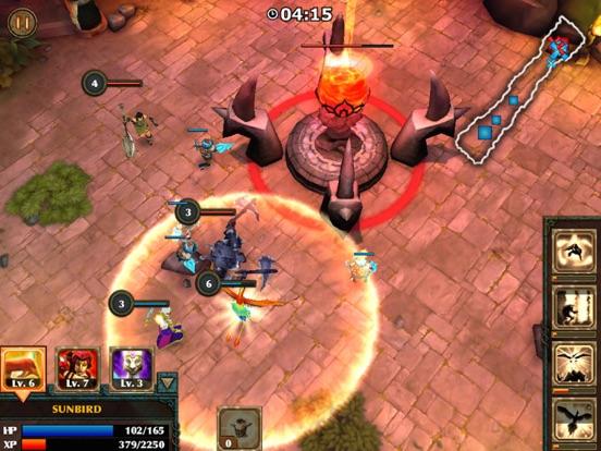 Legendary Heroes - offline MOBA для iPad