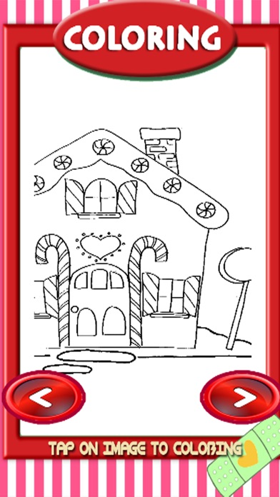 Draw Candy House Coloring Book Games Free App Download