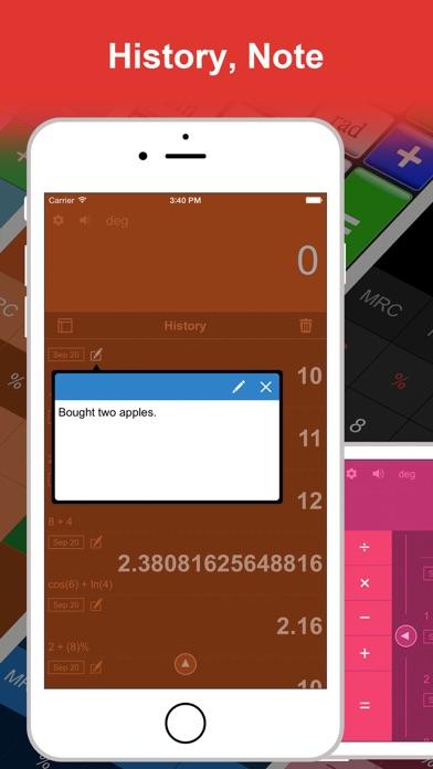 DayCalc Pro - Note Calculator Screenshots