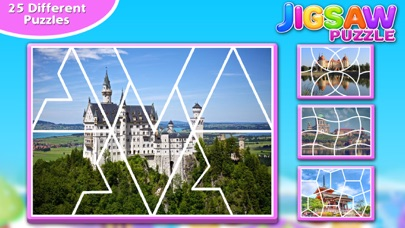 Screenshot #6 for Princess Castle Jigsaw Puzzle - Jiggy Puzzle Pack