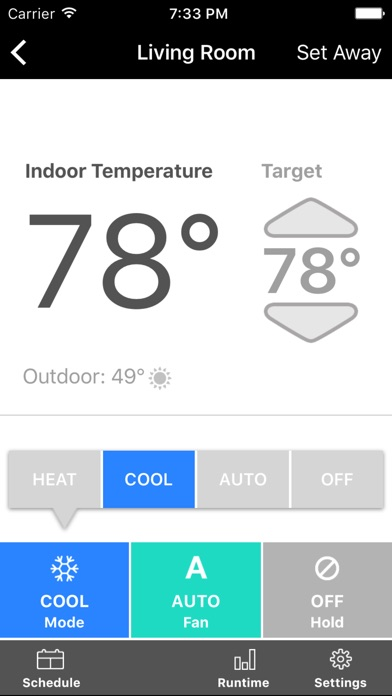 homecomfort thermostat on the app store