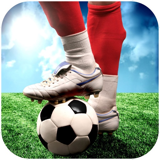 Play Football Real Soccer - Best free kick game iOS App