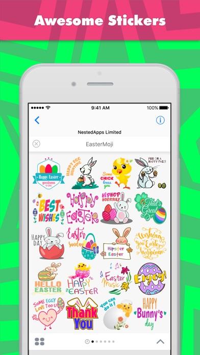 Screenshot of Sticker EasterMoji di NestedApps Stickers1